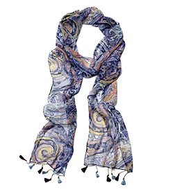 Collection 18 Spirit Paisley Slimmy Scarf