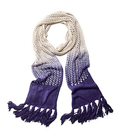 Collection 18 Ombre Knit Slimmy Scarf