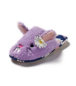 PJ Couture® Bunny Noman Slide Slippers