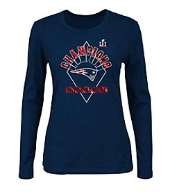 Majestic® NFL® New England Patriots Women's Super Bowl Gorgeous Long Sleeve Tee