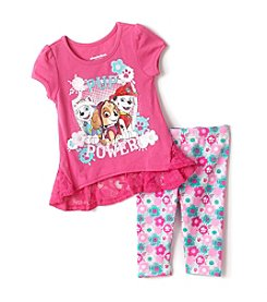 Nickelodeon® Girls' 2T-4T Paw Patrol Tunic And Leggings Set
