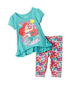 Disney® Girls' 2T-6X Ariel High-Low Tunic Leggings Set