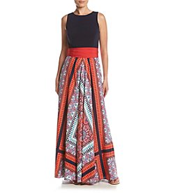 Eliza J® Belted Maxi Dress