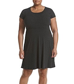 MICHAEL Michael Kors® Plus Size Fit And Flare Dress