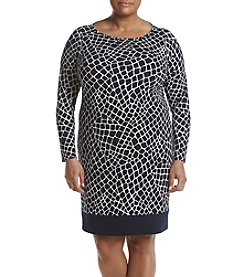 MICHAEL Michael Kors® Plus Size Crocodile Border Dress