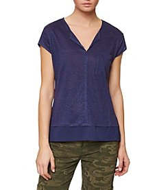 Sanctuary® City Mix Double Layered Tee