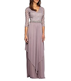Alex Evenings® V-Neck Long Gown