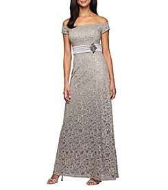Alex Evenings® A-Line Long Dress