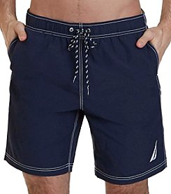 Nautica Men's Quick-Dry Nylon Swim Trunks