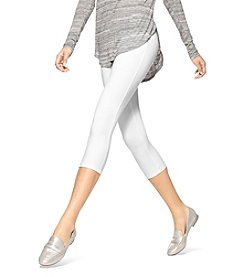 HUE® Temp Control Cotton Capri Plus Leggings