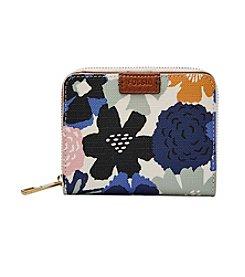 Fossil handbags accessories bon ton fossil emma rfid mini multifunction wallet colourmoves