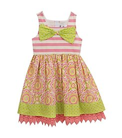 Rare Editions® Baby Girls' Counting Daisies Dress
