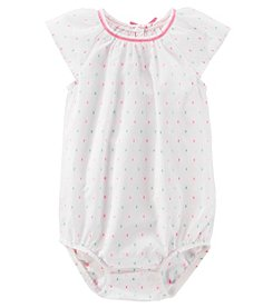OshKosh B'Gosh® Baby Girls' Clip Dot Bodysuit