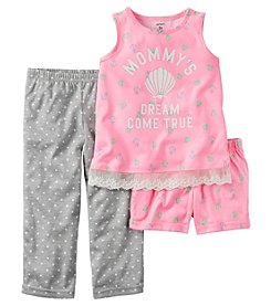 Carter's® Girls' Mommys Dream Come True 3-Piece Pajama Set