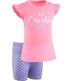 Under Armour® Baby Girls' Crushin' It Shorts Set