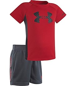 Under Armour® Baby Boys' Shift Sportster Tee And Shorts Set