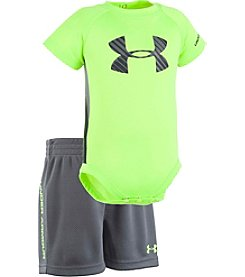 Under Armour® Baby Boys Shift Sportster Tee And Shorts Set