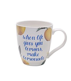 Pfaltzgraff® When Life Gives You Lemons Make Lemonade Mug