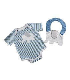 Baby Aspen Baby Boys' Little Peanut Elephant Layette and Bib Gift Set