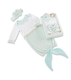 Baby Aspen Baby Girls' Simply Enchanted Mermaid 2-Piece Layette Set