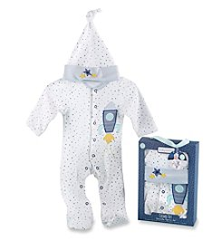 Baby Aspen Cosmo Tot Spaceship 2-Piece Pajama Gift Set