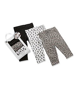 Baby Aspen Baby Girls' Set of 3 Trendy Baby Leggings