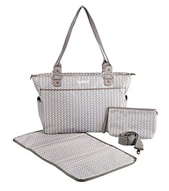 Baby Aspen 360 Signature Chevron Diaper Bag
