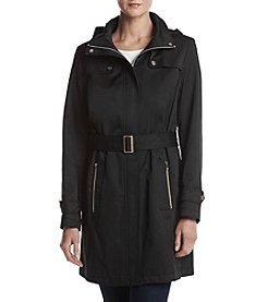 Ivanka Trump® Hooded Belted Trench Coat