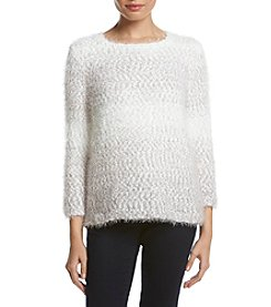 Alfred Dunner® Petites' Ombre Texture Sweater