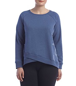 Calvin Klein Performance Plus Size Logo Sweatshirt