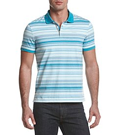 Calvin Klein Men's Short Sleeve Feeder Stripe Polo