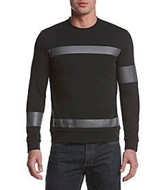 Calvin Klein Men's Solid Ponte Pull Over