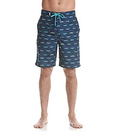 Le Tigre Men's Sea Critter Swim Trunks