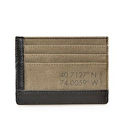 Calvin Klein Canvas Credit Card Case