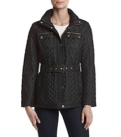 MICHAEL Michael Kors® Quilted Belted Coat