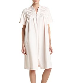 Miss Elaine® Short Zip Robe