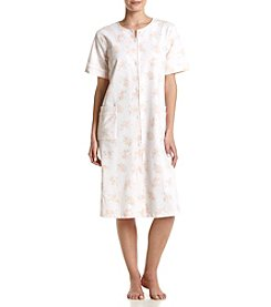 Miss Elaine® Floral Short Robe