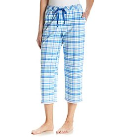 KN Karen Neuburger Plaid Capri Pants