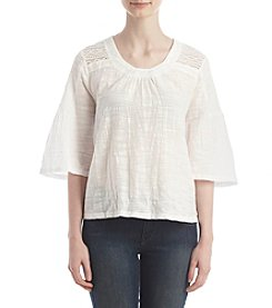 Hippie Laundry Lace Shoulder Top