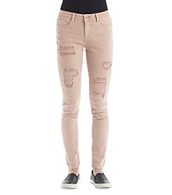 Hippie Laundry Destructed Ankle Skinny Jeans