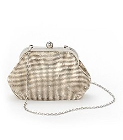 La Regale® Pyramid Mesh Framed Pouch