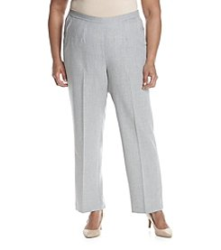 Alfred Dunner® Plus Size Rose Hill Pull On Pants