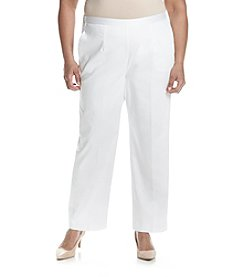 Alfred Dunner® Plus Size Seas The Day Proportioned Short Pants