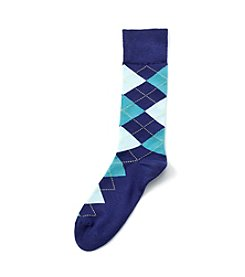 Kenneth Roberts® Men's Argyle Crew Socks