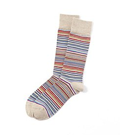 Kenneth Roberts Platinum® Men's Multistripe Crew Socks