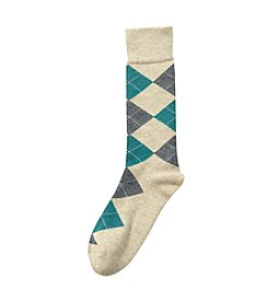 Kenneth Roberts Platinum® Men's Argyle Crew Socks