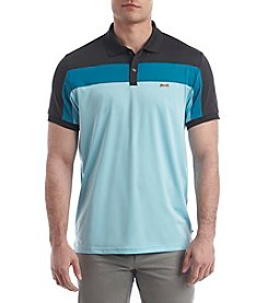 Le Tigre Men's Pieced Performance Polo