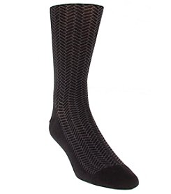 Cole Haan® Men's Geo Print Dress Socks