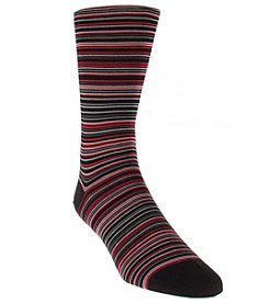 Cole Haan® Men's Multi Stripe Dress Socks