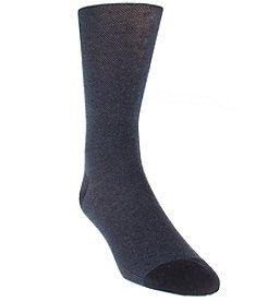 Cole Haan® Men's Pique Textured Dress Socks